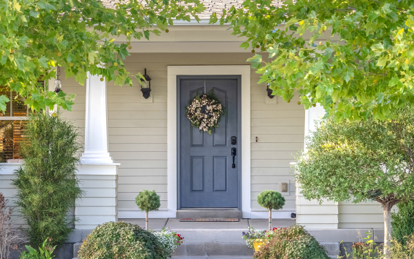 Beautiful and Secure Front Door