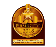 Pulse of the City Award Winner for Excellence in Customer Service