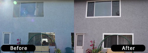 Whole Window Replacement, Before & After