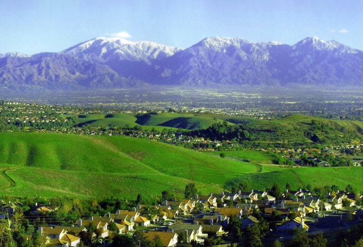 Superb Chino Hills Window Replacement Services for Chino Hills, CA Homes / Chino Hills Skyline / Photo: Wikimedia Commons
