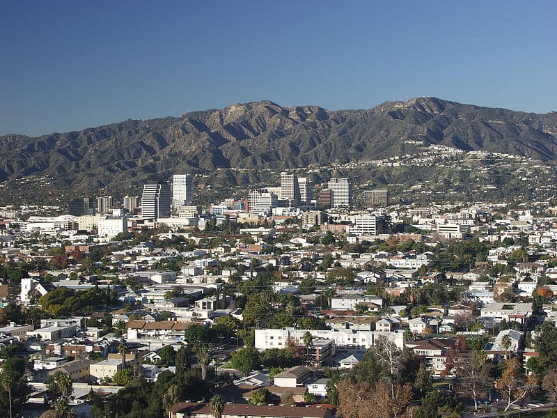 Glendale California From Forest Lawn|Wikimedia Commons:Gedstrom