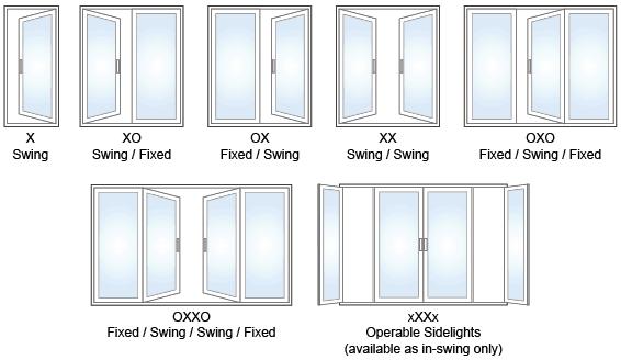 Patio Door Styles